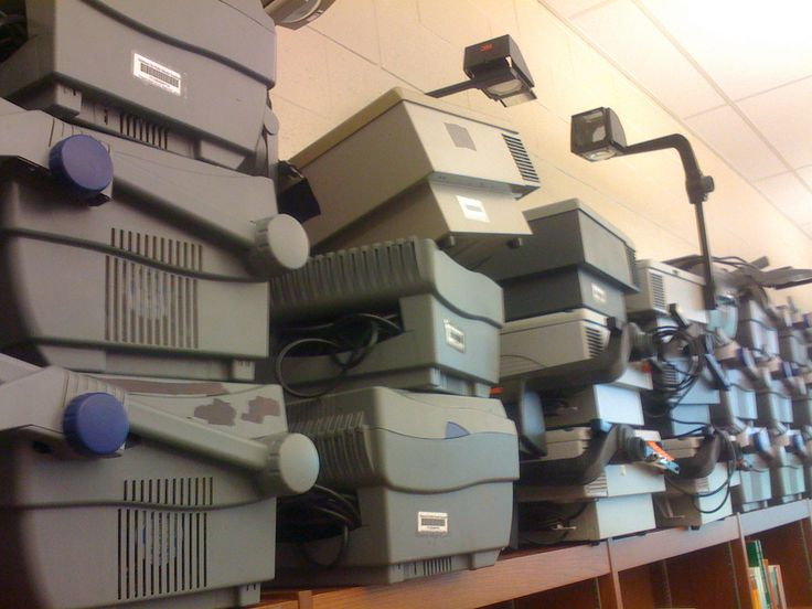 ... Overhead Projectors at US Grant High School in Oklahoma City | by Wesley Fryer