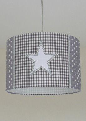 lamp STAR grijs-wit