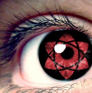 Mangekyou Sharingan Contact Lenses