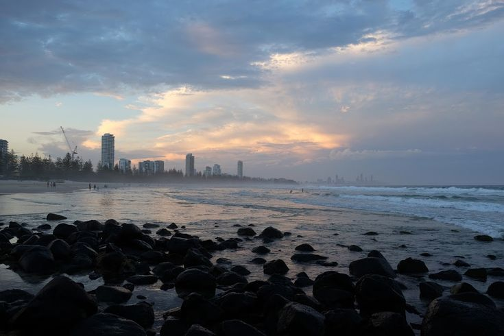sunset - Gold Coast, Australia