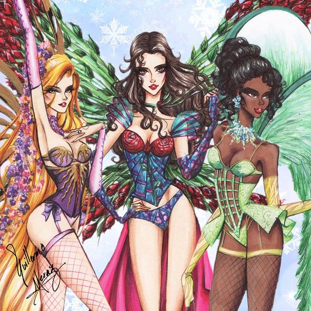 guillermo_meraz Disney Princesses go Victoria's Secret! Pt. 2. Fashion Collection by Guillermo Meraz. Haven't seen them yet? Go and check out my gallery! Please share you're favorite princess! That would help me a lot! Also please tag your friends! They might like them too! Thanks everyone that has already shared! Happy holidays!