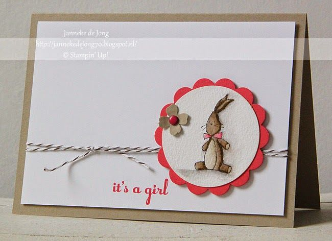 Stampin' Up! It's a Girl