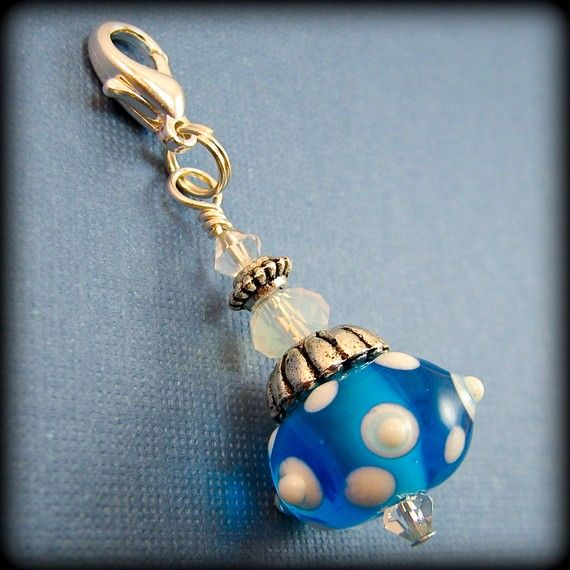 pictures of zipper pulls | Handmade Beaded Zipper Pull Charm Sea Bubbles by BrossARTaddiction ...