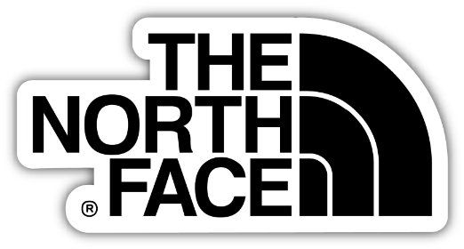 "THE NORTH FACE 3""x6"" Sticker Decal Vinyl"