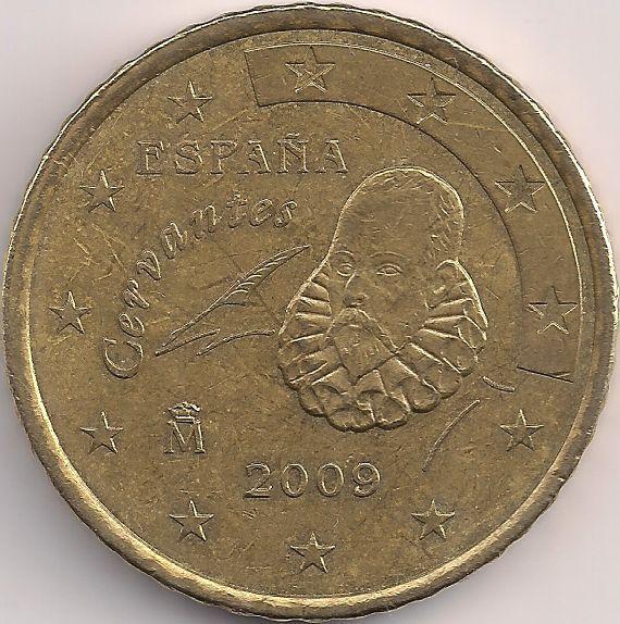 Motivseite: Münze-Europa-Südeuropa-Spanien-Euro-0.50-2007-2009