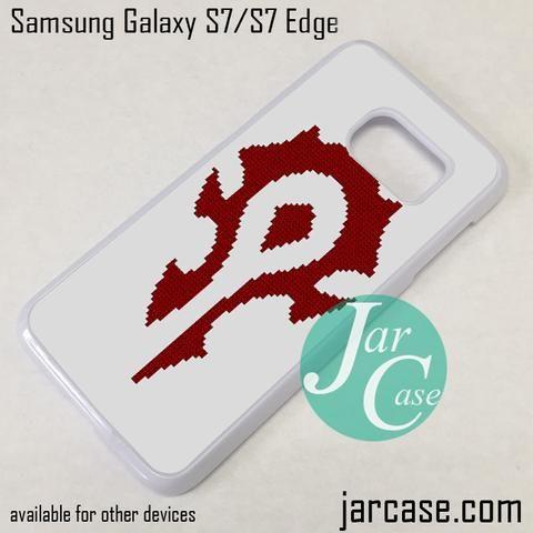 Warcraft Logo (5) Phone Case for Samsung Galaxy S7 & S7 Edge