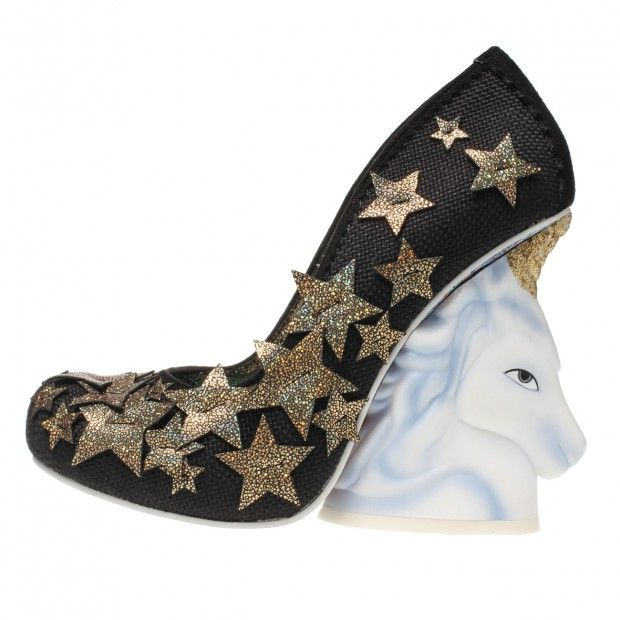 Irregular Choice 'Eternal Friend', black