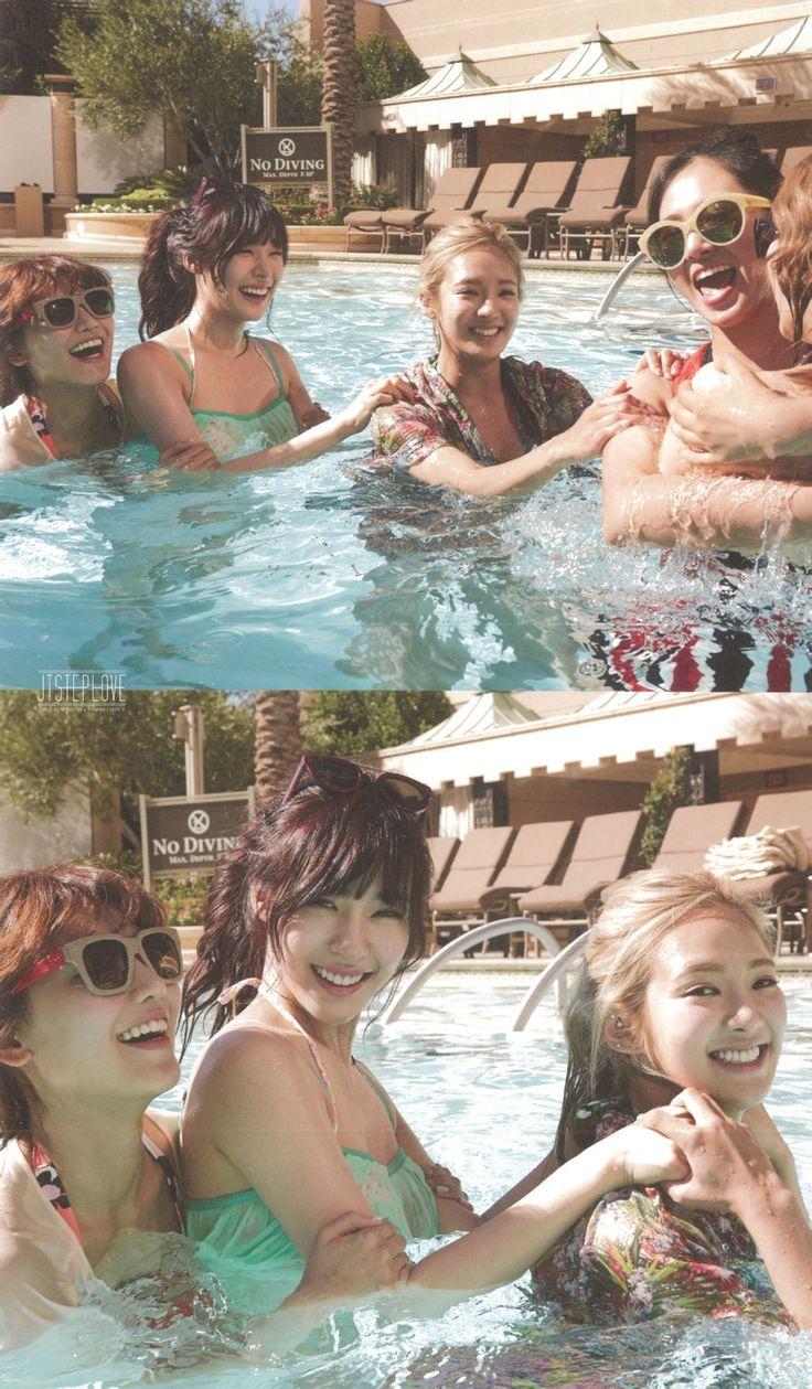 SNSD Girls' Generation photo book SNSD in Las Vegas 2014 photobook