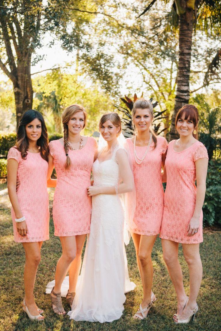 A peach vintage eclectic diy wedding diy wedding peach and wedding ombrellifo Gallery