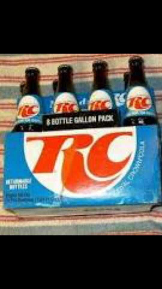 Remember RC cola? My friend's mom always had cold bottles of RC in the fridge. Yum!