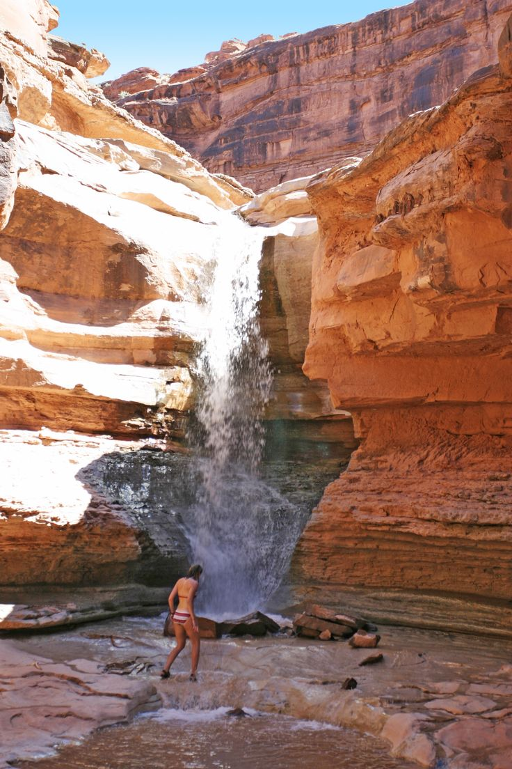 Explore and relax in the great outdoors in Canyonlands National Park, Utah. Definitely on my bucket list.