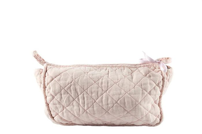 MrsBLOOM: Quilted Toiletbag light pink