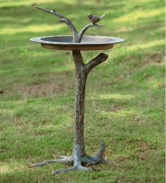 Bird & Twig Sundial- I would probably want this to be a bird bath.