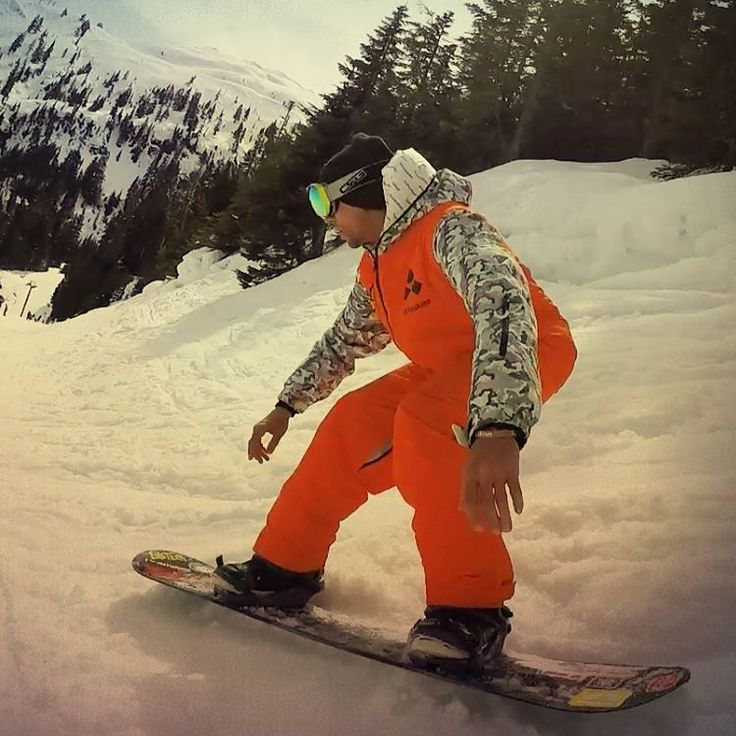 All in one ski suit. One piece snowboard suit for men and women. Stand out with an Orange Camo Oneskee Mark III HALF PRICE at www.oneskee.com  #skiingislife #ski #zipup #mountains #onesie #oneskee #skisuit #skistyle #winter #powpow #steez #slopestyle #winterstyle #snowsports #snowboard