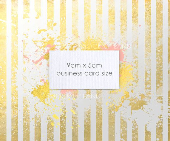 Buy any 2 get 3 MOCK UP  FUNKY striped card mock up  by MockUpLand