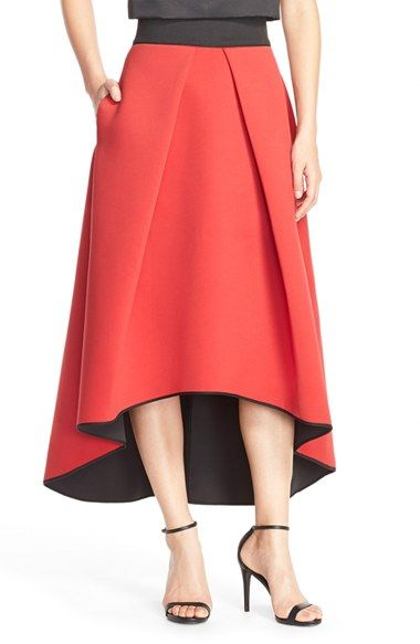Milly Scuba Ball Skirt available at #Nordstrom