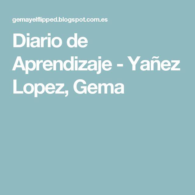 Diario de Aprendizaje -Yañez Lopez, Gema