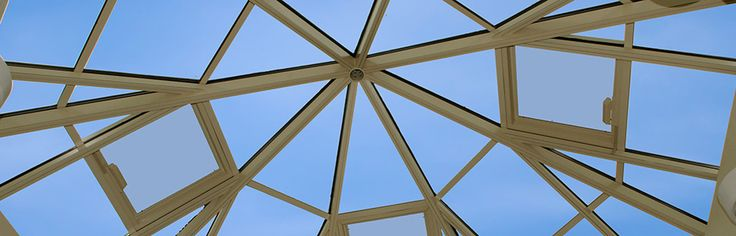 Octagon shaped skylight at Notre Dame Academy