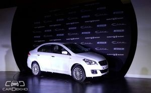 Maruti Suzuki, the largest car manufacturer in the country has launched two new variants of the mid-sized sedan Ciaz with additional safety aspects. The two variants introduced by the company are VXI (O) with the sticker price of INR 7.48 lac and VDI (O) with the price tag of INR 8.37 lac.