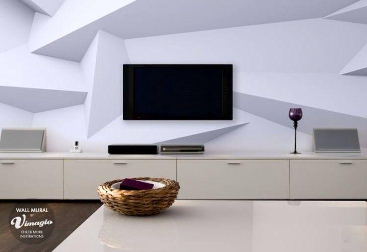 Mural 3 d mobiliario y decoraci n pinterest for Raumgestaltung 3d