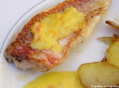 Sauce au beurre d'orange (parfaite pour accompagner st jacques ou poissons, rajouter maïzena après crème fraîche si trop liquide)