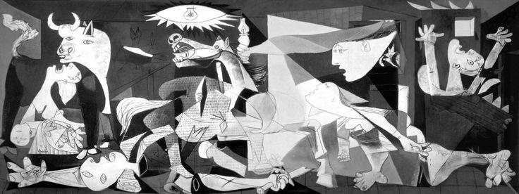 Foto interactiva sobre el Guernica de Picasso.