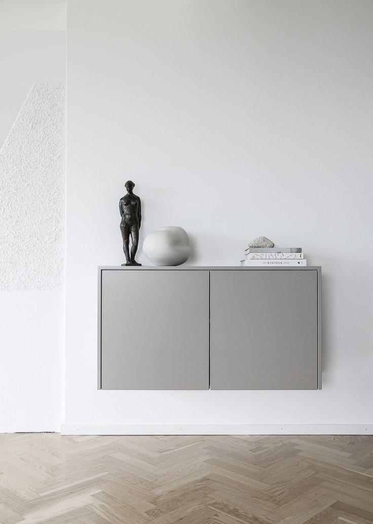 Floating console table (design by me) / Tota & new home