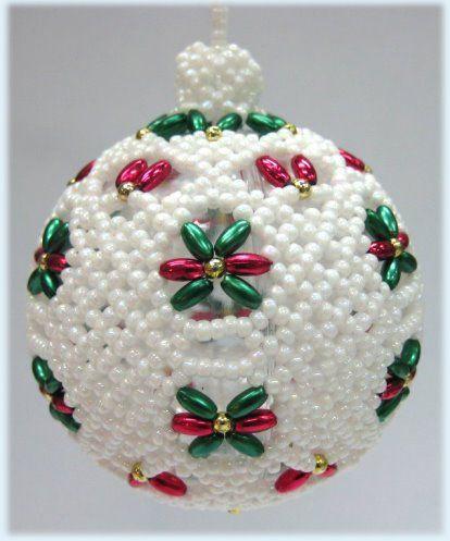 TMVbijoux: Se preparando para o Natal, com bolinhas artesanais para a montagem da sua árvore