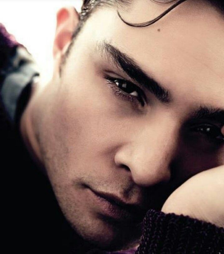 Ed Westwick... I am absolutely obsessed with him.