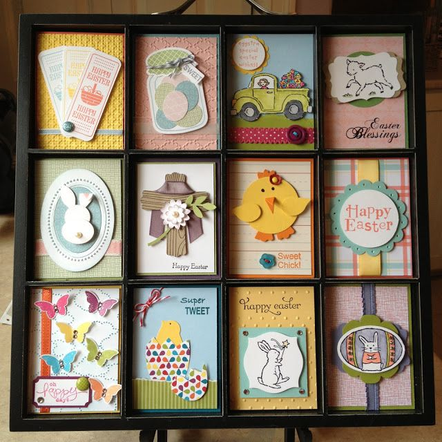 Stampin' Up! Collage by Catherine Loves Stamps: Easter Printers Tray !!