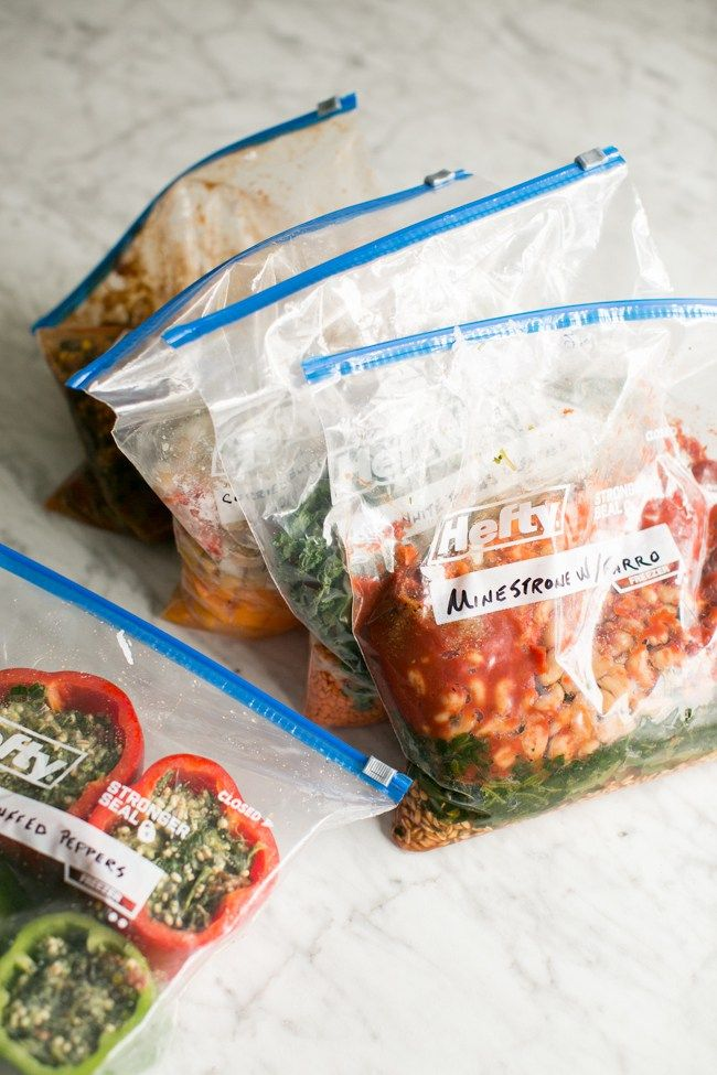 Vegetarian Freezer Bag Meals for the Slow Cooker