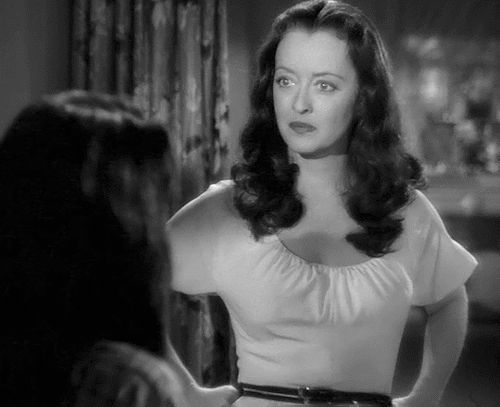 """"""" Dona Drake & Bette Davis in Beyond the Forest, 1949 """""""