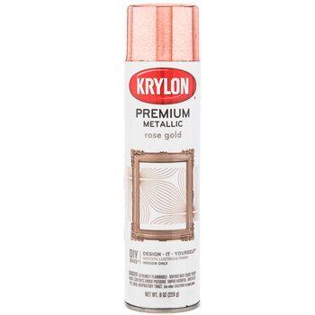 Rose Gold Krylon Premium Metallic Spray Paint | Rose gold painting ...