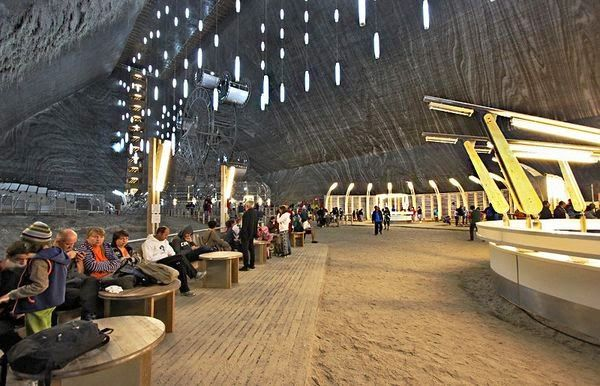 Natural wonders - Turda Salt Mine Romania 2