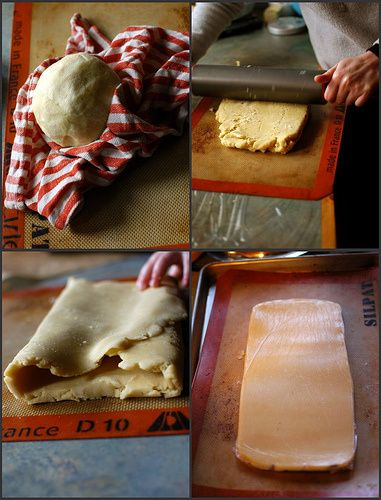 Gluten-Free Rough Puff Pastry, adapated from David Lebovitz's Whole Wheat Puff Pastry recipe from Ready for Dessert: My Best Recipes It beg...