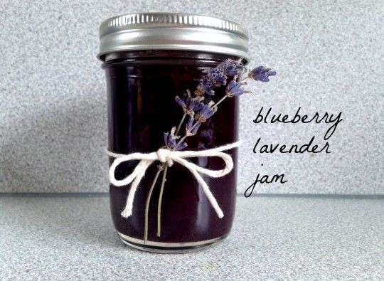 blueberry lavender jam with vanilla bean | rosemarried (via punkdomestics.com)