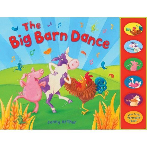 """The Big Barn Dance - Jenny Arthur; Varsta: 1+; Cockerel si prietenii sai asculta muzica la ferma, canta la diferite instrumente si isi exerseaza propriile miscari de dans. The Big Barn Dance aduce cate un sunet pentru fiecare animal de la ferma impreuna cu un text vesel si ritmat si un o surpriza """"pop-up"""" la sfarsitul povestii."""