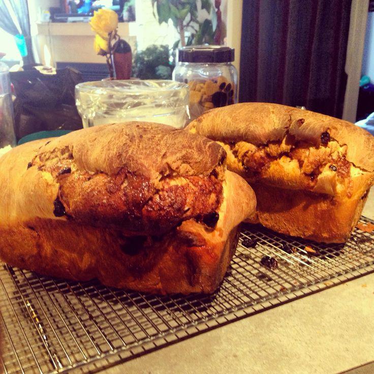 Cinnamon craisin swirl bread!