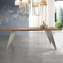 Mesa rectangular Nostos. Mobles Nacher
