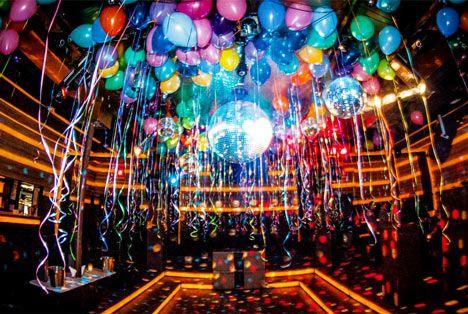 Balloons Color Party Disco Ball Party Pinterest