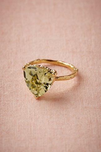 Evergreen Hollow Ring-- i love this color, I love this ring.  Imagine if it could color change to the pinks/peaches/purples?