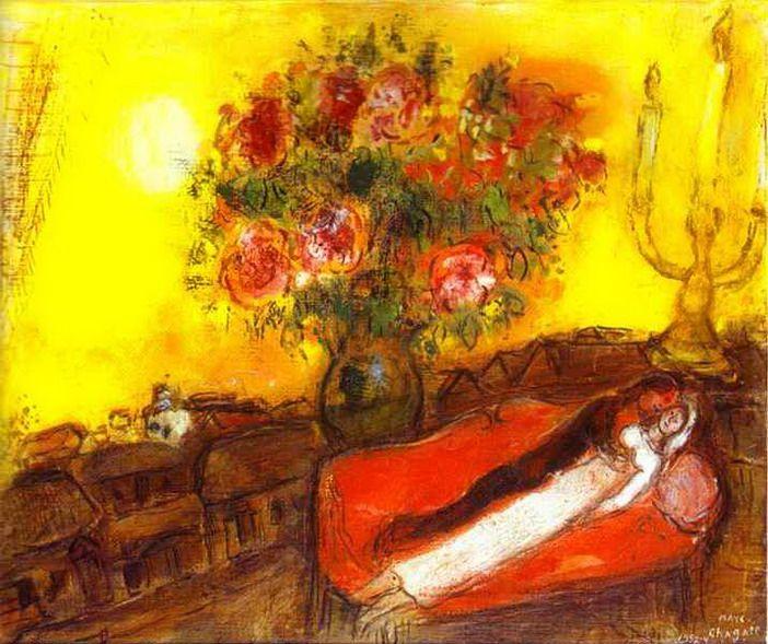 """Le Ciel embrase"". 1952 - 1954    Private collection"