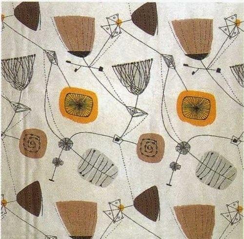 Henry Moore fabric design