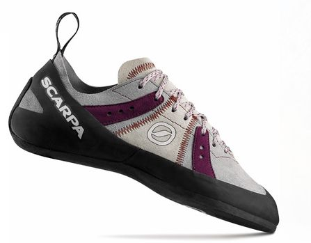 slightly obsessed with my super comfy Scarpa bouldering shoes