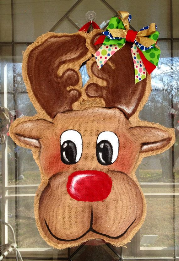 Reindeer Door Hanger.