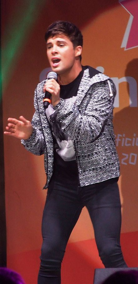 Joe McElderry, 2010 winner of UK 'X' Factor