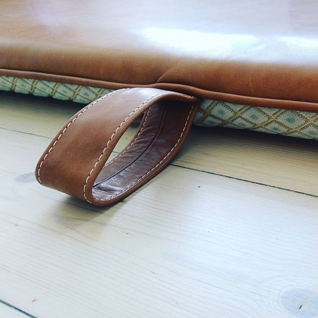 THE M #bythornam #handmade #leather #luxery #cozytime #danishdesign #slowliving