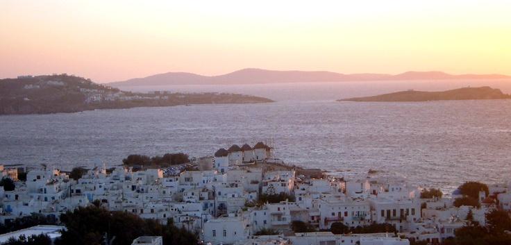Sunset @ Mykonos Chora