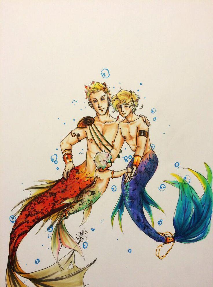 Best 25+ Anime Mermaid Ideas On Pinterest