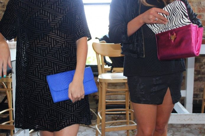 TANARAH - SACHI #AW14 BEHIND THE SCENES (Lady Fox clutches)
